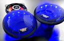 バイク スピーカー オーディオ 300W LED 連続ストロボ!!交互フラッシュ!!マジェスティ フォルツァ フュージョン マグザム スカイウェーブ 原付 ディオ ジョグ 【送料無料】