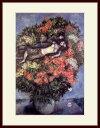 シャガール・「リラの花の中の恋人たち」