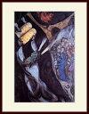 シャガール・「律法の板を受けるモーゼ」