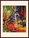 美術, 美術品, 古董, 民間工藝品 - マルク・「森の中の鹿2」
