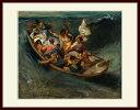ドラクロワ・「大嵐の中眠るキリスト」
