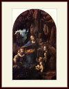 ダヴィンチ・「岩窟の聖母」