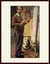 キリコ・「パリの画室での自画像」
