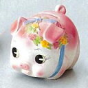 [Piggy Bank] coin money box / small, pink