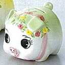 [Piggy Bank] coin money box / mini, green