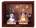 ミッキーマウス&ミニーマウス♪【ディズニーミッキーマウス】マンスリーフィギュア3月「ひなまつり」(平飾り雛人形)