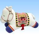 Celebration pieces ( white horse stuffed toy )