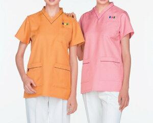 NawayナウェイナガイレーベンMFT-5802男女兼用上衣サイズ:SS〜BLナースウェア