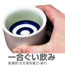 利き酒用1合猪口(美濃焼ぐいのみ)/箱付(常温発送)
