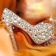 【サイズ有22.0/22.5/23.0/23.5/24.0/24.5】ウエディングシューズ キラキラ・ビジュー・豪華なレディースガラスの靴 ハイヒール・パンプス ラインストーン・パール・舞台用 小さいサイズ 大きいサイズ対応 di310c0c0w4/代引不可 02P09Jul16