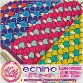 【echino 2015】arc アーク柄☆綿麻キャンバス生地【鳥・エチノ】
