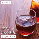 黒胡麻麦茶 ティーバッグ5g40包入り 黒ごま|ゴマ|麦茶|送料無料|ゴマペプチド|