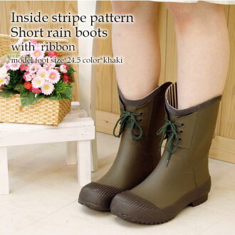 Shipping 300 yen ♪ cute lace-up short-length boots