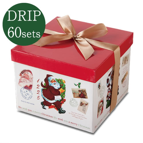 ヒロコーヒーのクリスマスギフト特集ドリップコーヒー30個セットギフトボックス入り