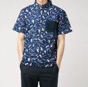 ショッピングアロハシャツ 【Fashion THE SALE】【送料無料】PROJECT SR'ES アロハシャツ メンズ アロハ ハワイ 日本製 コットン 100% 半袖 M L XL ハワイアンシャツ オーバーサイズ ブランド
