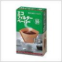 エコ フィルターペーパーブラウン1×2G / ブレンドコーヒー 珈琲 coffee プレミアム ブレンド モカ