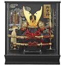 【オルゴール付き】富岳 藤翁 以下、関連キーワード 五月人形 ケース飾り コンパクト おしゃれ 兜ケ