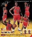 MAFEX マフェックス No.100 Michael Jordan Chicago Bulls アクション フィギュア