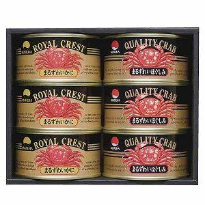 Maruha まるずわいがに canned food alignment MRZ-5005P24jul13fs3gm