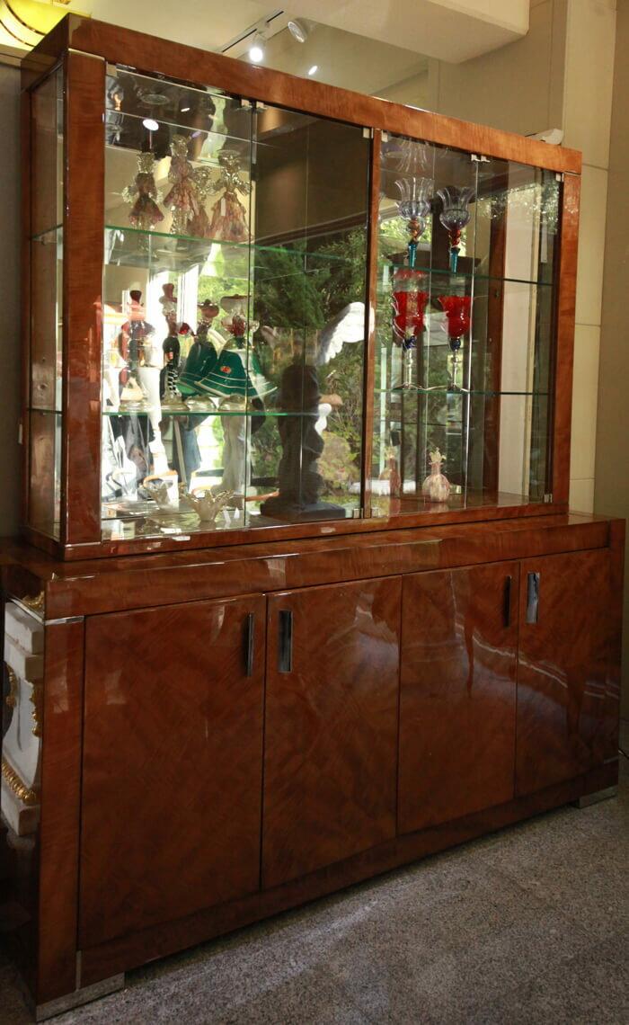 4ドアキャビネット/装飾/フロントガラス