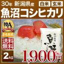新米 30年産 新潟県 魚沼産コシヒカリ 米 2kg 送料無...