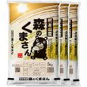 特別栽培米 森のくまさん 15kg 送料無料(熊本県 30年産)(5kg×3 玄米/白米) お米 の ギフト 内祝い お祝い お返し に 熨斗(のし)名入れ 可