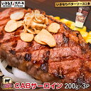 【肉の日限定】Bクーポン使用で4320円!CABサーロインステーキ200g×3枚セット(200gサ