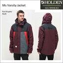 50%OFF HOLDEN ホールデン Varsity Jacket 送料無料 スノーボード ウエア ジャケット メンズ align=