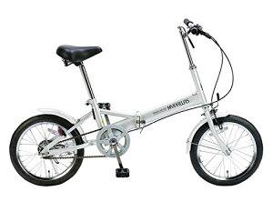 【送料無料】折りたたみ自転車 16インチ 折り畳み自転車 マイパラス 自転車 通販 コンパクト自転車 軽量 M-101