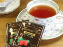 【紅茶】オランダ産の香りの高いストロベリーと、高品質のスリランカ産の紅茶をブレンドしたフレバーティーです。ストロベリー紅茶(2,2gx10p)x2【termpoint0902】