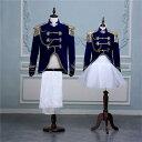 【サイズ有S/M/L】演出服 華麗な王族服 王子様 ヨーロッパ風 男女 カップル コスプレ衣装 ステ