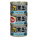 50円OFFクーポン配布【送料無料】毎日黒缶3Pしらす入りかつお 480g(18個入り)アイシア【ペットフード】