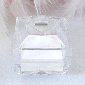 氷のような キレイな 透明ジュエリーケース(ネ...の紹介画像2