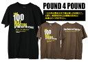 [SALE]Pound 4 Pound/パウンド フォーパウンド デザインTシャツ[メンズ 半袖 Tシャツ ティーシャツ カットソー おしゃれ かっこいい 紳士 秋服 秋物 秋 冬服 冬物 冬 大人 彼氏 プレゼント]◆50%〜59%