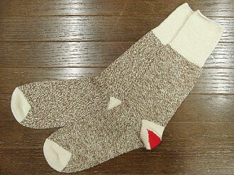 Fox River Fox River レッドヒール Sox two-legged set Brown Heather (ORIGINAL ROCKFORD RED HEEL SOCKS Sock Monkey)