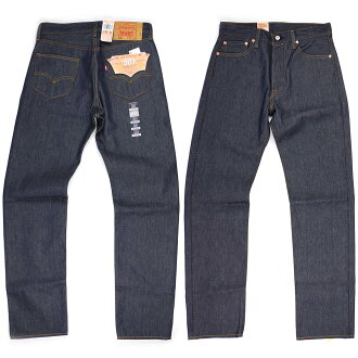 Levi's LEVI's 501-0000 original button fly straight jeans rigid STF BIG SIZE (シュリンクトゥ fit raw denim USA lines)