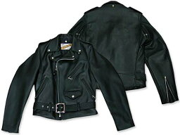 Schott Classic Perfecto Steerhide Leather Motorcycle Jacket 618: Black