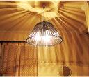 【LED対応】【3灯ペンダント】【送料無料】 バリリゾートに飾るモダンなアジアン照明天井照明 ペンダントライト おしゃれ インテリア*バンブーカップ *ene