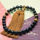 【天然石 数珠】タイガーアイ丸(10mm)・オニキス丸(10mm)デザイン10P05Nov16