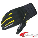 �椦�ѥ��å��б� ���ߥ� GK-121 �ץ�ƥ��ȥ�å��奰�?��-���쥤��KOMINE GK-121 Protect M-Gloves-GRAVE