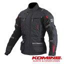 JK-574 コミネ フルイヤーツーリングジャケット-ラーマ2 5XLB BLACK [07-574] KOMINE F-Touring JKT-RAMA2