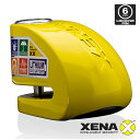 XENA XX6-Y (YELLOW) アラーム ディスクロック ゼナ