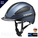 【送料無料】KED 乗馬用ヘルメット PASO(ダーク・ブ