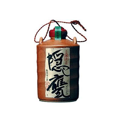 九州ギフト2019薩摩金山蔵そば焼酎隠し甕(25度/720ml)J07Z05常温
