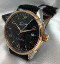 Very nice combination of Golden EPOS expose mens watch name original 3427 RGSABK black