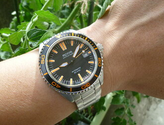★ EPOS watch ( EPOS ) genuine ★ 2011 model ★ divers watch ★ 3413 BLORM orange is beautiful