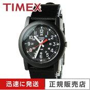 【人気商品】 タイメックス TIMEX T18581 新作 キャンパー ブラック 文字盤 ブラックナイロン ストラップ 正規輸入品
