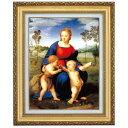 立体複製名画 ラファエロ 「ヒワの聖母」 F10号