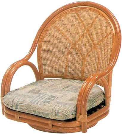 ラタンチェア ロータイプ 77: 籐家具 ラタン 贈り物 プレゼント 回転 椅子 イス K-Style 送料無料 イス・チェアからお勧めの 座椅子 !籐製 ラタンチェア 椅子 籐家具 ロータイプ 回転イス