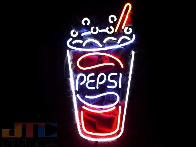 【海外直輸入商品・納期1週間〜3週間程度】【全国送料送料無料・沖縄・離島を除く】ペプシコーラ Pepsi-Cola コカ・コーラ ネオン看板 ネオンサイン 広告 店舗用 NEON SIGN アメリカン雑貨 看板 ネオン管